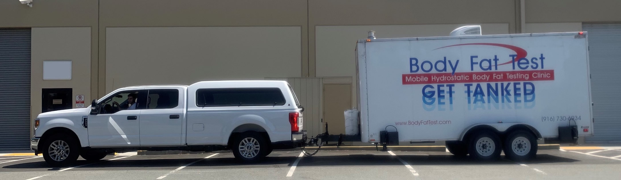 Northern California Body Fat Test Truck